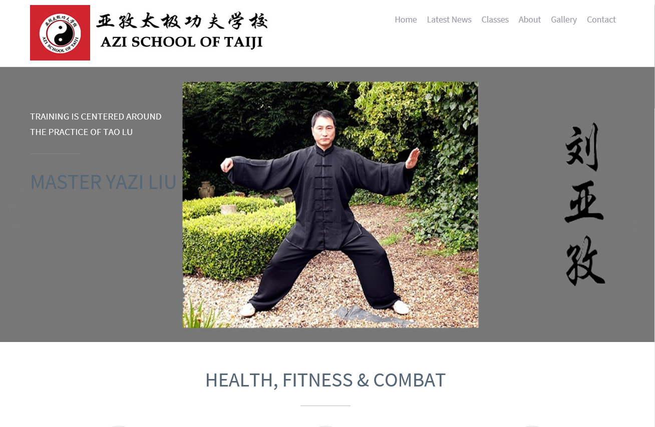 Martial Arts School website|Yvanne Teo