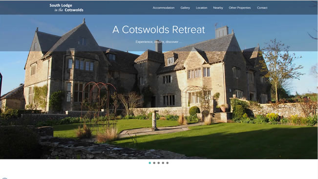 Cotswolds Cottage rental website|Yvanne Teo
